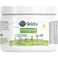 Garden of Life Kids Daily Multivitamin Powder for Toddlers & Kids, Organic, Non-GMO & Gluten Free, 15 Essential Vitamins…