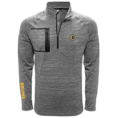 NHL Vault Wordmark Quarter Zip Mid-Layer – DiZiSports Store