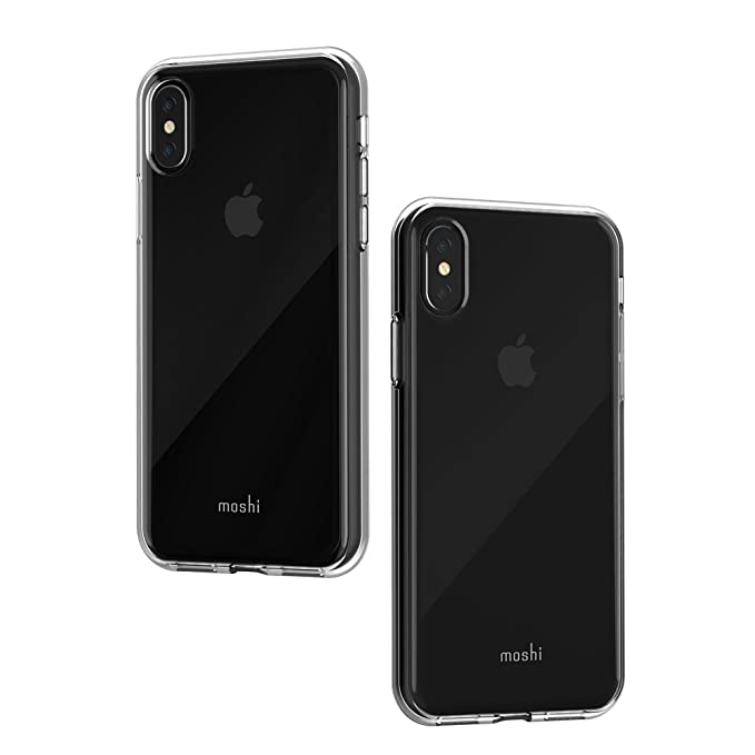 online store dbfa3 00d37 Amazon.com: Moshi Vitros for iPhone Xs/iPhone X (Crystal Clear ...