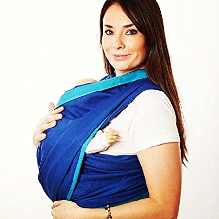 Hip Baby Wrap Baby Carriers-Size 6, River X000Q48ZXF