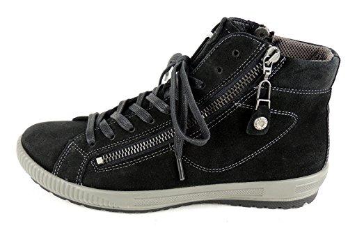 Legero Vrouwen Tanaro High Sneaker Zwart