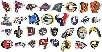 Amazon Com All 32 Nfl Football Teams Official 3d Foam Logo Wall Signs Sports Outdoors