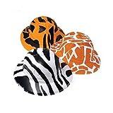 Animal Print Safari Hats (2 Dozen) - Bulk
