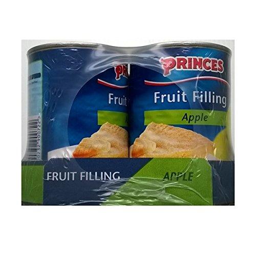 Princes Fruit Filling Apple 6 x 395gm by Princes
