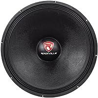 Rockville RVW1800P8 1800w 18 Raw DJ Subwoofer 8 Ohm Sub Woofer 107OZ Magnet