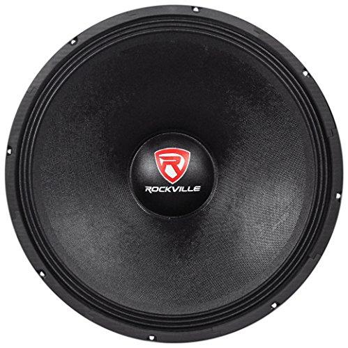 Rockville RVW1800P4 1800w 18'' Raw DJ Subwoofer 4 Ohm Sub Woofer 240OZ Magnet by Rockville