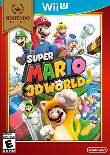 Super Mario 3D World for Wii U  Leap into the first multiplayer Mario platformer set in a 3D world! Play as Mario, Luigi, Princess Peach, and Toad—each with their own special skills—in the all-new Sprixie Kingdom. Scamper up walls ...