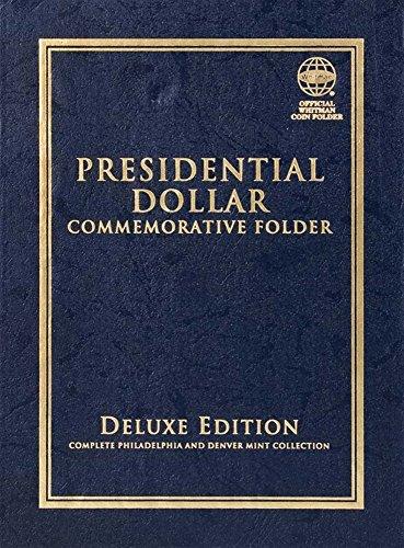 2007-2016 PRESIDENTIAL DOLLAR COMMEMORATIVE FOLDER ALBUM WHITMAN QUADFOLD #1