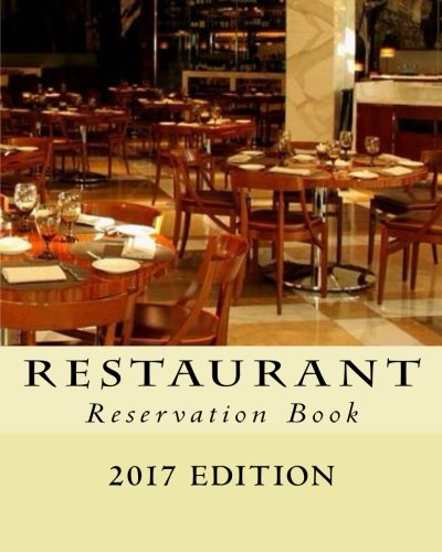 Restaurant Reservation Book