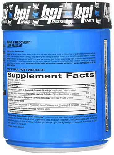 BPI Sports Best BCAA – BCAA Powder – Branched Chain Amino Acids – Muscle Recovery – Muscle Protein Synthesis – Lean Muscle – Improved Performance Hydration Passion Fruit- 60 Servings – 1.32 Pound