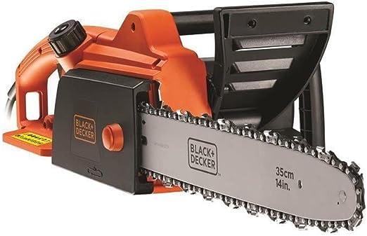 BLACK+DECKER CS1840-QS - Motosierra eléctrica, 1800 W, longitud de espada 40 cm: Amazon.es: Bricolaje y herramientas
