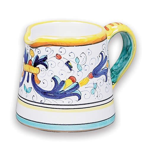 - Arte D'Italia Imports Hand Painted Ricco Creamer Pitcher From Italy
