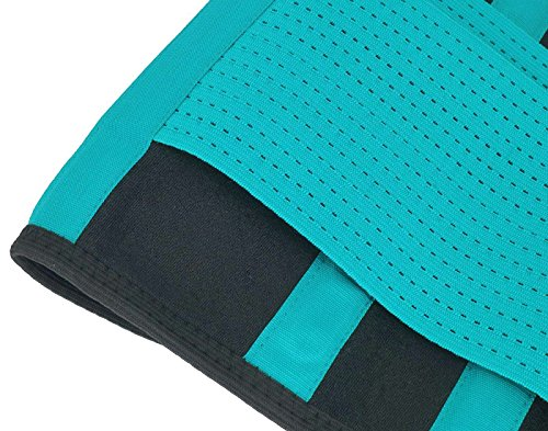 Back Brace Lumbar Support Belt for Lower Back Pain Medical Grade Posture Corrector and Stabilizer with Dual Adjustable Straps Size S Green by Panegy (Image #3)