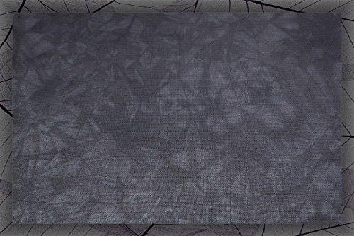 Hand-dyed 18 Count Aida Cloth (DMC/Charles Craft) - 17x19 - Midnight