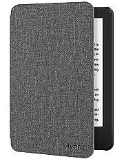 Ayotu Funda para Kindle Versión 10ª generación 2019 - con activación/suspensión automática se Ajusta al Nuevo Kindle 2019 de Amazon (no se ajustará a Kindle Paperwhite 2018) Gris