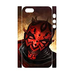WJHSSB Cell phone Protection Cover 3D Case Star Wars For Iphone 5,5S