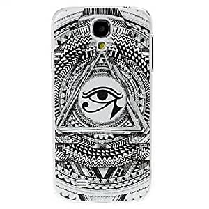 SUMCOM Abstract Eye Pattern Plastic Case for Samsung Galaxy S4 I9500