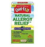 Cold-EEZE Natural Allergy Relief, Non-Drowsy, 20 Capsules Each (Pack of 9)