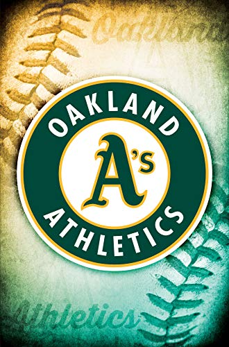 Trends International Oakland Athletics - Logo Wall Poster 22.375