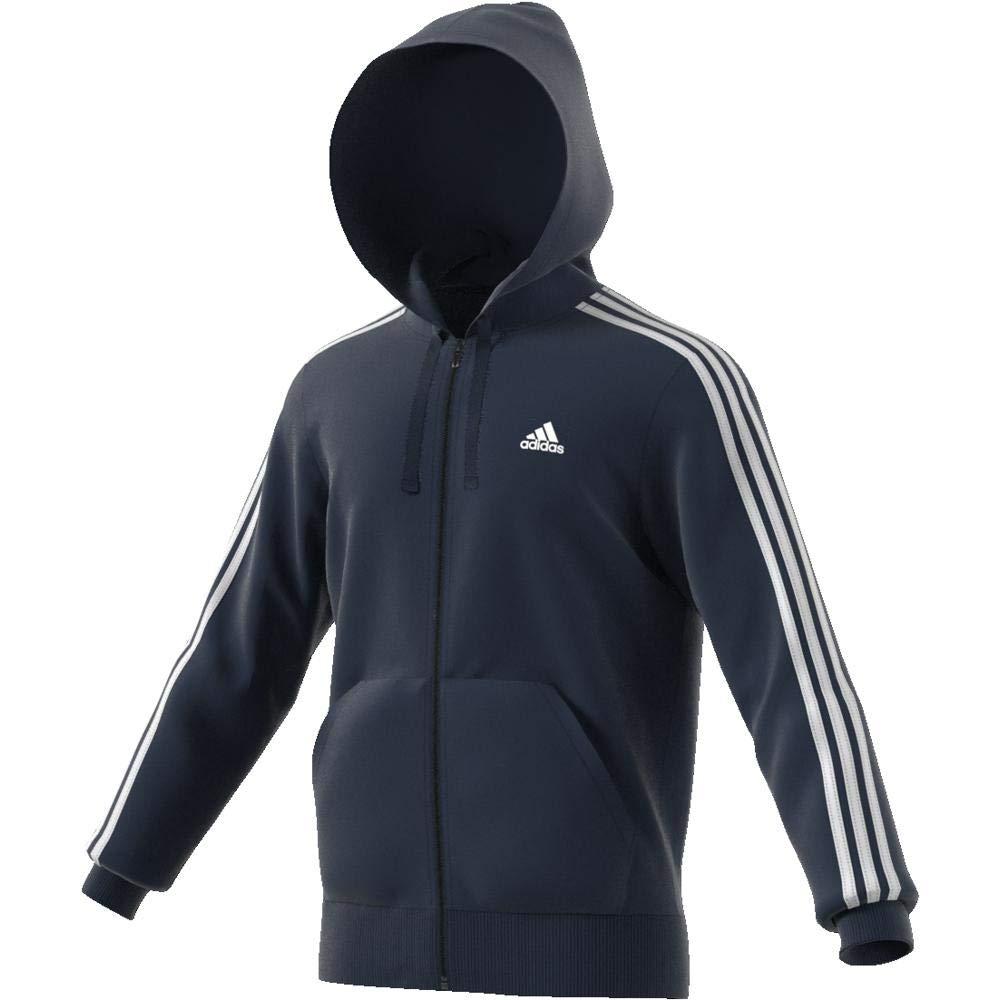 Cappuccio Fz FtFelpa Sportiva Con 3s UomoAmazon Adidas it Ess v0wm8ONn