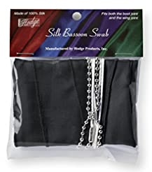 Hodge BB1 Bassoon Black Silk Swab
