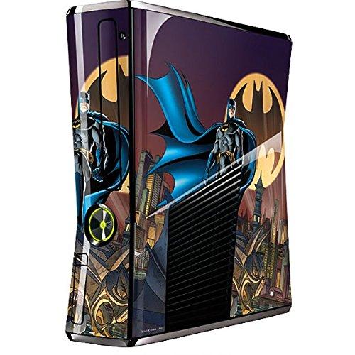 DC Comics Batman Xbox 360 Slim (2010) Skin - Batman in the Sky Vinyl Decal Skin For Your Xbox 360 Slim (2010) ()