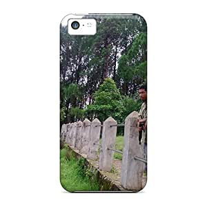 Hot Design Premium GBN7566UkiL Cases Covers Iphone 5c Protection Cases(srinagar Hill In Tansen Nepal)