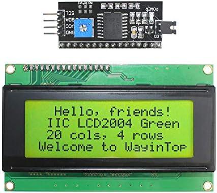 Happy Electronics I2C LCD2004 Serial 20 x 4 LCD Module