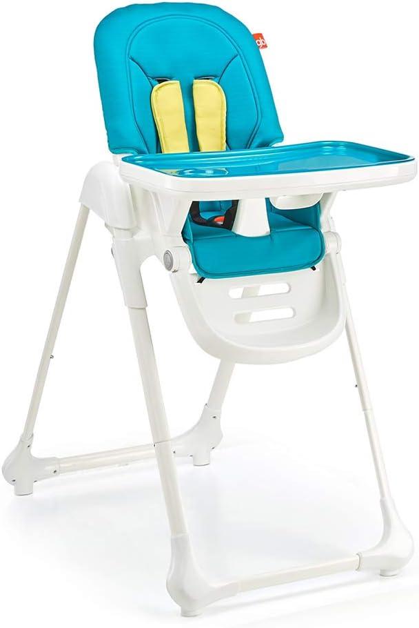ダイニングチェアポータブル食べる席のダイニングチェア折りたたみスナックブースターシート多機能世帯の子どもたち (Color : PINK, Size : 94*55*112CM)