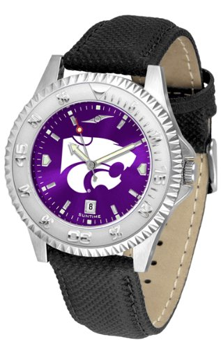 (Linkswalker Mens Kansas State Wildcats Competitor Anochrome Watch)