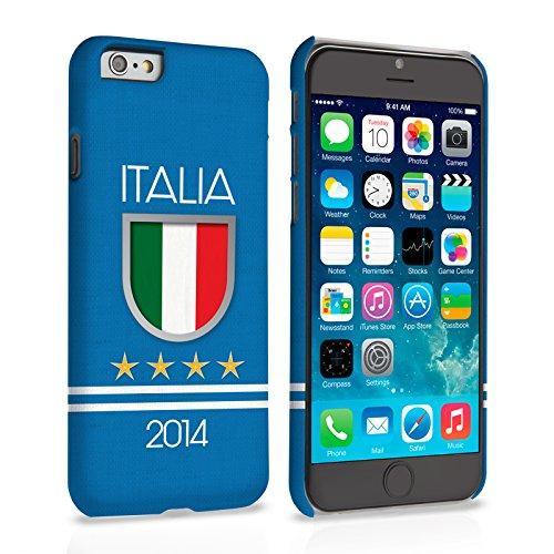 Caseflex iPhone 6 Plus / 6S Plus Hülle Italia Weltmeisterschaft Hart Schutzhülle (Kompatibel Mit iPhone 6 Plus / 6S Plus - 5.5 Zoll)