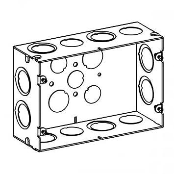 Sdb 2 2 Gang 2 12 Deep Switch Box