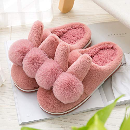 Jia Per Calde Cotone Bambini Hong Red 35 Scarpe 36 22 Da Di Cotone Pantofole Invernali purplel Invernale In Borsa Donna Carini Interni rrZqvS