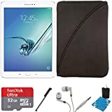 Samsung Galaxy Tab S2 9.7 Wi-Fi Tablet (White/32GB) SM-T810NZWEXAR 32GB MicroSDHC Memory Card Bundle includes Galaxy Tab S2, 32GB MicroSDHC Memory Card, Stylus Stylus Pen, Case with Zipper