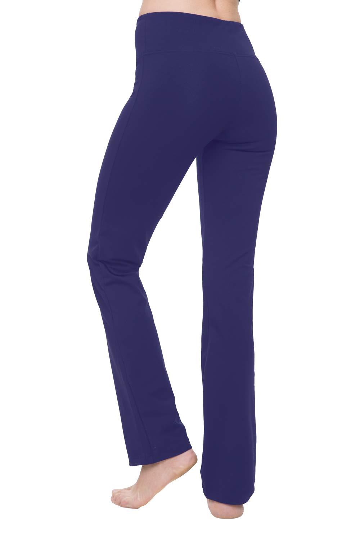 b4ddf357990ba NIRLON Yoga Pants for Women Best Black Leggings Straight Leg 28