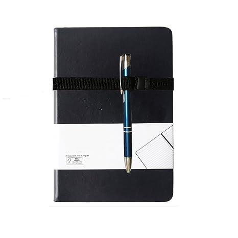 Amazon.com: 2 soportes elásticos para bolígrafos A4 A5 B5 ...