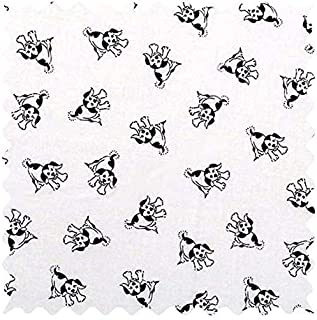 product image for SheetWorld 100% Cotton Percale Fabric by The Yard, Doggies, 36 x 44