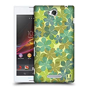 Head Case Designs Flower Translucencies Protective Snap-on Hard Back Case Cover for Sony Xperia C C2305