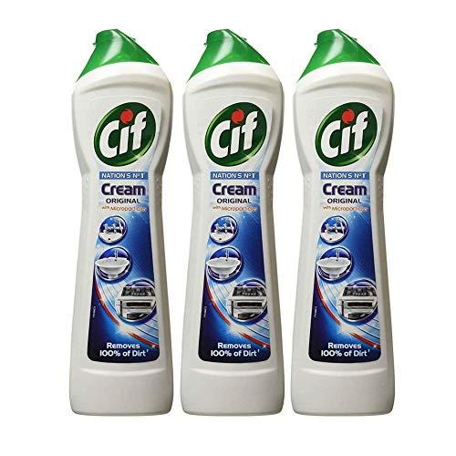 Cif Cream Cleaner Original 500ml (PACK OF 3)