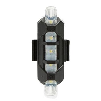 SLCSL Recargables USB LED Luz bicicl ETA Bicicleta luz ...