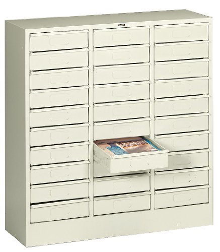 Lit Organizer, Horizontal, LTR, 30 Drawer, Putty ()