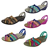 Take 15% Off Crocs Womens Huarache Mini Wedge Sandals