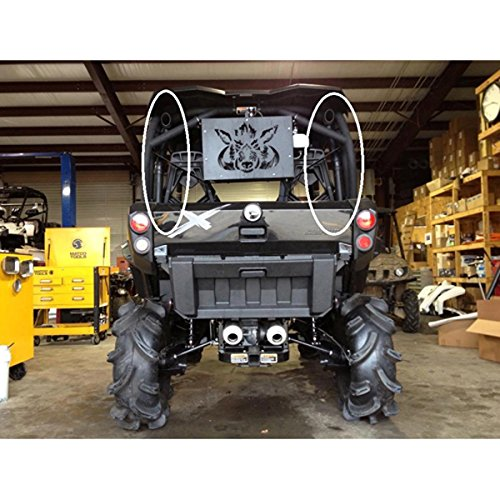 2013 Can-Am Commander 1000 DPS Performance ATV Snorkel Kit by High Lifter SNORKL-C1C-P