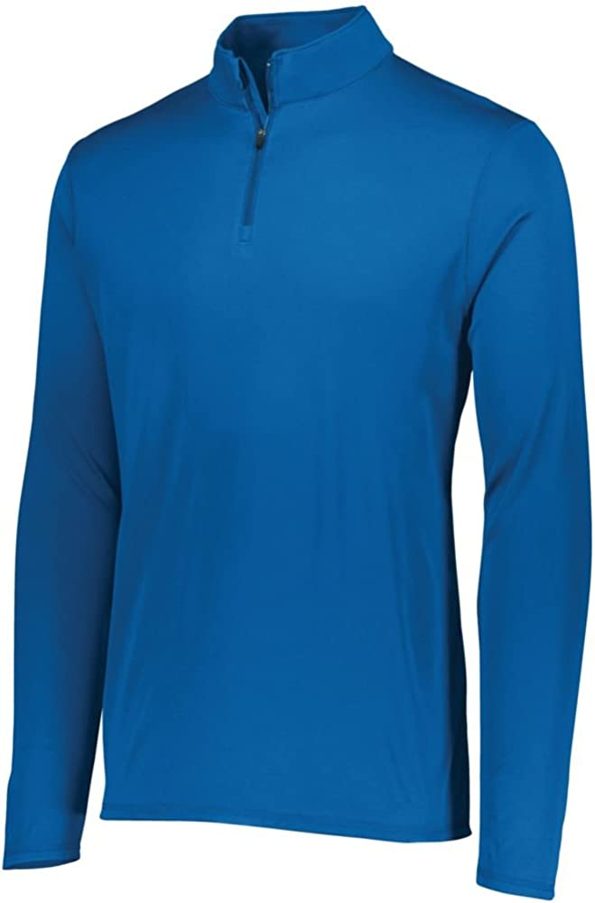 Augusta Sports Mens Attain 1//4 Zip Pullover Pack of 3