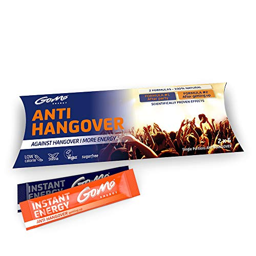 GoMo ENERGY Anti Hangover Drink | Perfect for Fast Recovery & Enhanced...