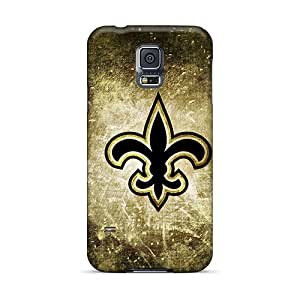 Fashionable Style Case Cover Skin For Galaxy S5- New Orleans Saints Logo Nfl