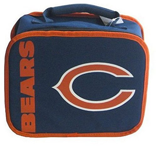 Licensed Chicago Bears Sacked Lunch Box Insulated Cooler Bag (Chicago Bears Lunch Box compare prices)