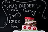 Round and Square Topsy Turvy Mad Dadder 3 Piece Cake Pan Set By Fat Daddios