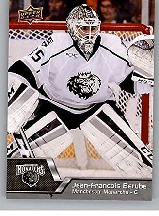 newest b7e52 093df Amazon.com: 2014-15 Upper Deck AHL Hockey #50 Jean-Francois ...
