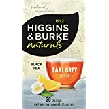 Higgins & Burke Tea, Earl Grey Black, 20 Count